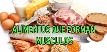 Come estos Alimentos y ten mas Musculo